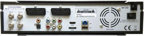 Topfield TMS SRP-2100 PVR zadní