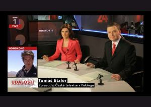 Události - grafika 2010 - on air