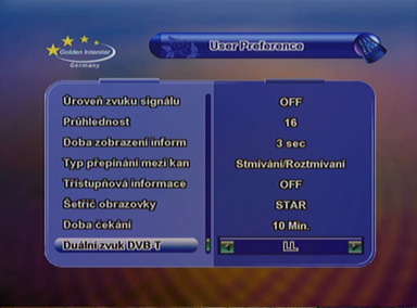 Interstar 8700 CRCI predvolby II