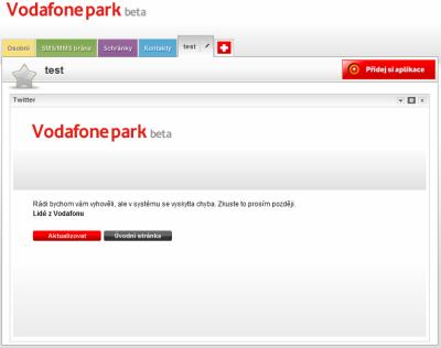 Vodafone Park - chyba