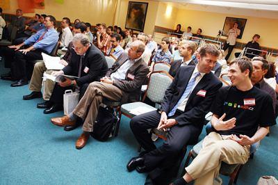 Video Forum 2007 - Pohled do salu