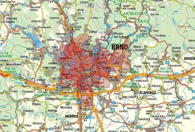 Volný TV - pokrytí Brno