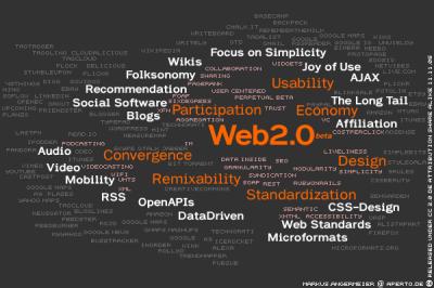 Mrak tagů kolem Webu 2.0