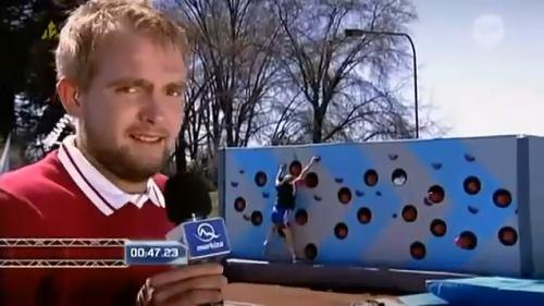 Nova - Wipeout, moderátor Libor Bouček