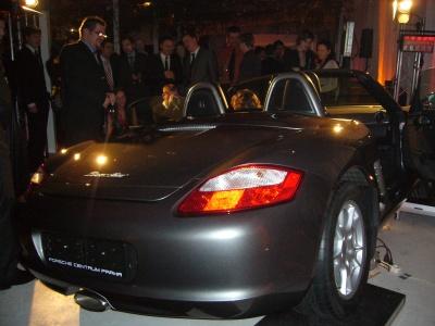 Porsche s XTB zezadu