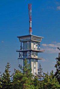 Vysílač Zelená hora - ilustrační