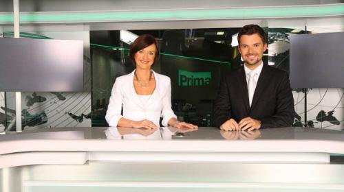 Zprávy TV Prima - Terezie Kašparovská, Tomáš Drahoňovský