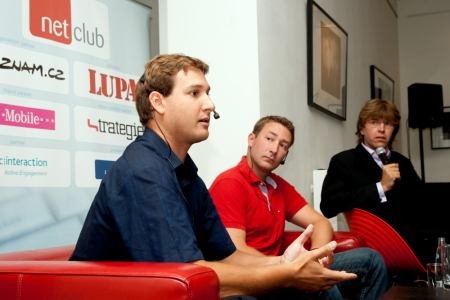 NetClub září 2009 - bratři Staňkové a Miloš Čermák