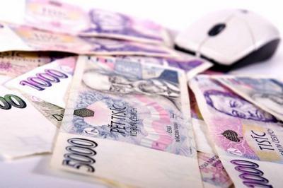peníze, myš, finance