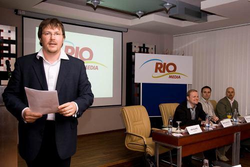 RIO Media tiskovka