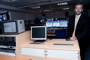 TV Barrandov - čtecí zařízení + korekce kamer