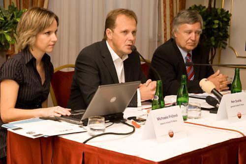 Tisková konference Nova HD - 30. září 2008