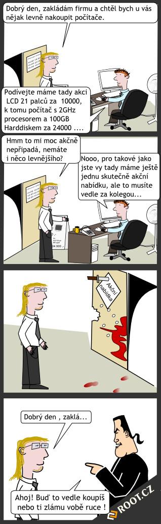 Komiks akce