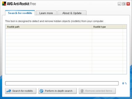 AVG Anti-Rootkit