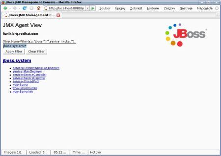 JBoss filter