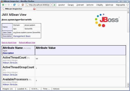 JBoss mbean