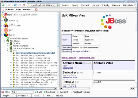 JBoss web