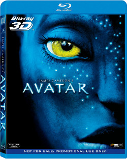 Blu-ray disk Avatar 3D