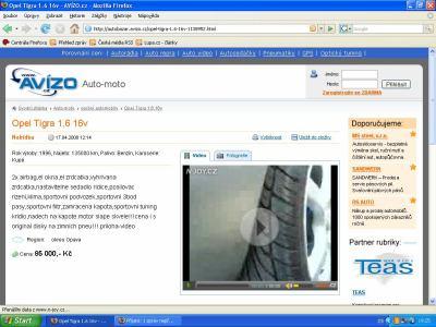 Avizo videoinzerce