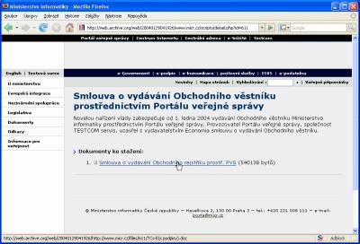web MI CR
