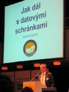 Zdeněk Zajíček na ISSS 2010