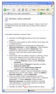 Explorer nenačte stránky s certifikátem SHA2