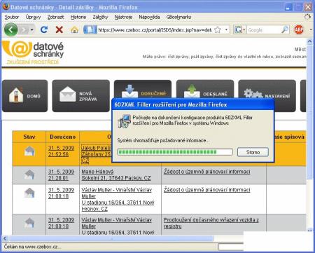 DS dodelavka instalace Firefox