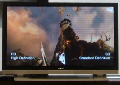 rozdil v rozliseni SD a HD