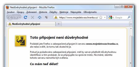 Hláška Firefoxu