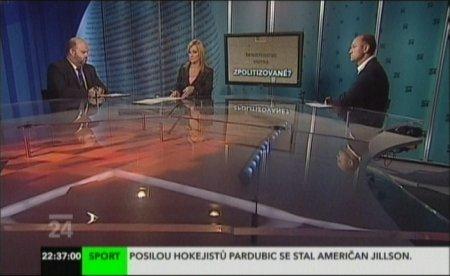 Langer a Pecina v TV