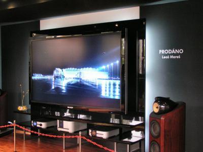 TV 257 cm