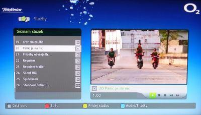 VOD DVB-T