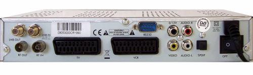 Opensat 3000CR PVR zadní panel