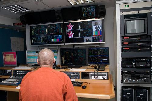 Návštěva TV Barrandov - 4