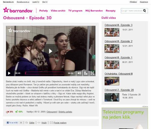 Barrandov - online archiv