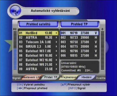 Golden Interstar GI-T/S 84CI PVRX instalace
