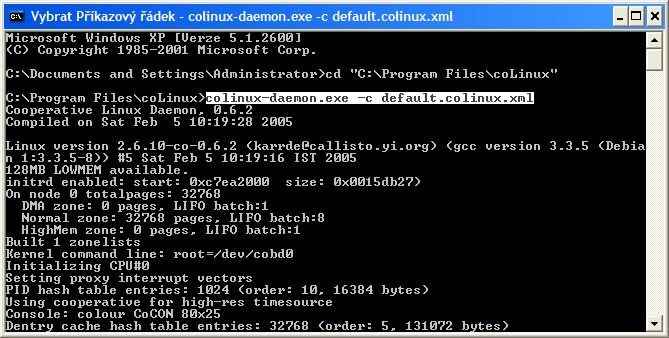 Cooperative Linux - Úvod a instalace