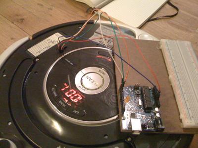 Roomba připojena