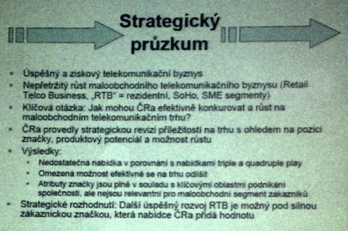 CRA strategické rozhodnutí