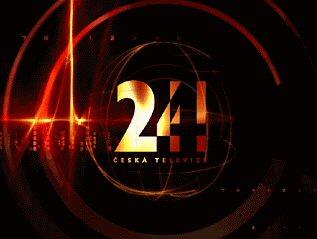 ČT 24 logo obrazovka