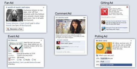 Reklamní formáty na Facebooku
