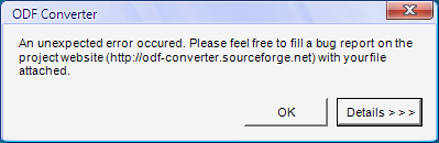 ODF plugin do MS Office