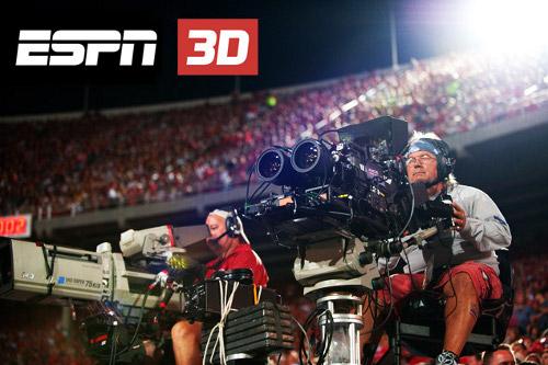ESPN 3D kamera