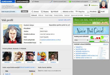 Eurogamer profil