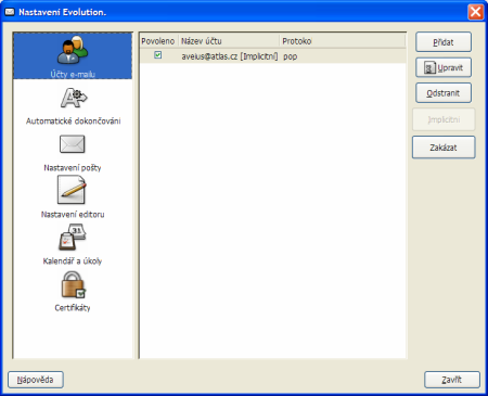 Evolution pro Windows 2