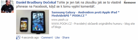 fb like komentar vysledek