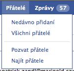 Facebook přátelé