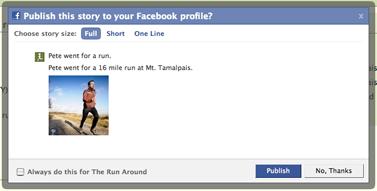 Facebook Connect přidání k profilu