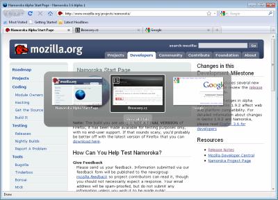 Firefox 3.6 - Ctrl+Tab