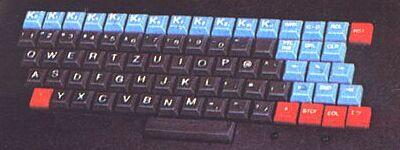 Detail klávesnice PMD